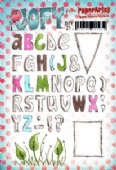 PaperArtsy JOFY Collection 21 - Alphabet Letters JOFY21